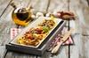Italiaanse driegangenluch of diner