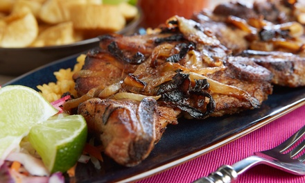 Jerk Chicken Lunches for Two or Four at Caribbean Sizzler (Up to 37% Off)