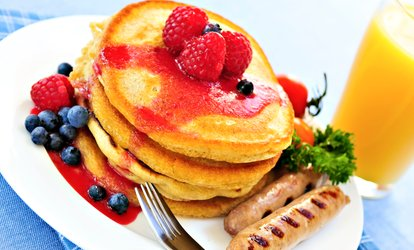 image for $20 or $40 Worth of Breakfast Food at I Heart Pancakes