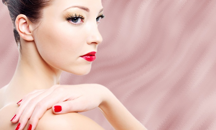 Charleston Nails & Spray Tan - Charleston: Shellac Manicure with Pedicure or Additional Manicure at Charleston Nails & Spray Tan (Up to 52% Off)