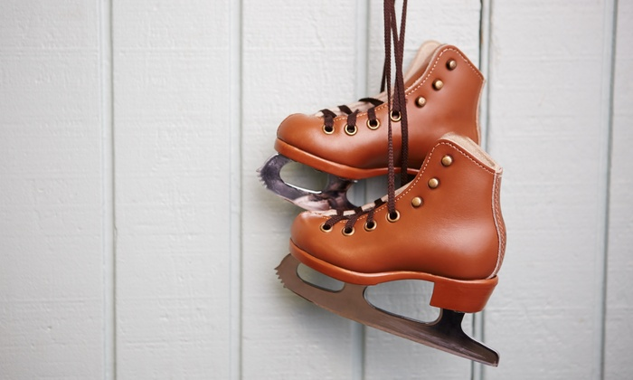 Tampa's Downtown on Ice - Tampa's Downtown on Ice: Ice Skating with Skate Rental for Two or Four at Tampa's Downtown on Ice (Up to 42% Off). Four Options Available