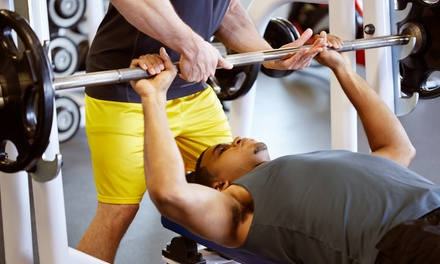 One- or Two-Month Gym Membership with Personal Training Session at Uptown Energy Fitness (Up to 80% Off)
