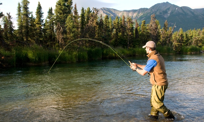 Alaska Outdoor Gear Rental - Downtown: $28 for $51 Worth of Fishing-Equipment Rental — Alaska Outdoor Gear Rental