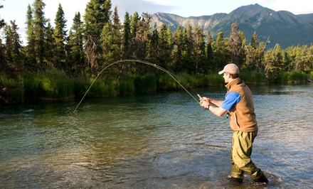 $28 for $51 Worth of Fishing-Equipment Rental — Alaska Outdoor Gear Rental