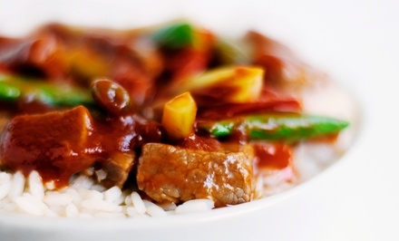 $12for $20Worth of Chinese Food Dinner at Mongolian Bar-B-Que Buffet