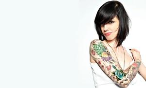 Paga 19,90 € y obtén un descuento de 110 € en un tatuaje en negro o color