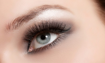 Full Set of Faux Mink Eyelash Extensions with Optional Fill-In at House of Lashes (Up to 61% Off)