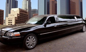 Consumer Low Rates transportation:  $145 for Two-Hour Stretch Limo Rental for up to Eight from Consumer Low Rates transportation($300 value)