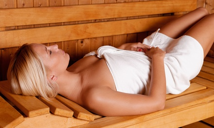 Infrared Sauna Sessions or Full-Body Spray Tan at Banana Tans (Up to 64% Off)
