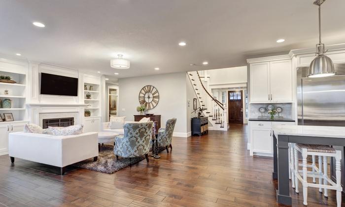 Hardwood Floors Center - Atlanta: $175 for 100 Square Feet of Hardwood-Floor Resurfacing from Hardwood Floors Center ($350 Value)