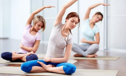 image for 10 Class-Pack or One-Month Unlimited Classes at Barefoot <strong>Yoga</strong> Shala (Up to 69% Off)