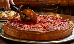 Manhattan Chicago Pizza Kendall: Pizza and Italian Food for Two, Valid for Dine-In or Carryout at Manhattan Chicago Pizza Kendall (Up to 50% Off)