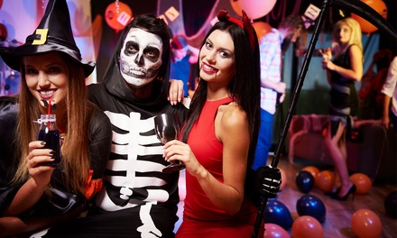 Sky High Halloween Party with Open Bar on Saturday, October 28, at 9 p.m.