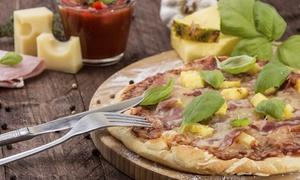 Pizzería Mia Mamma: Menú italiano para dos con entrante, pizza, postre y bebida y opción a botella de vino desde 16 € en Pizzería Mia Mamma