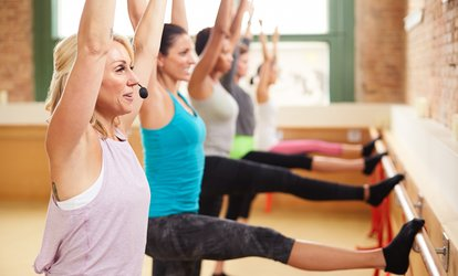 image for Five or 10 Barre <strong>Classes</strong>, or One Month of Unlimited Barre <strong>Classes</strong> at Anchor Barre (Up to 53% Off)