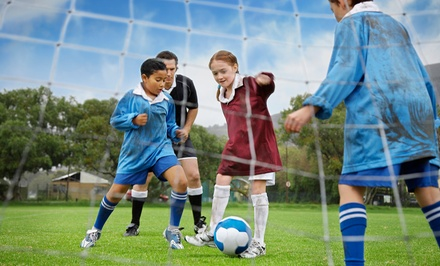 $99for an All-Day One-Week Soccer Camp for One Child at Central Jersey Premier Soccer Academy ($165Value)