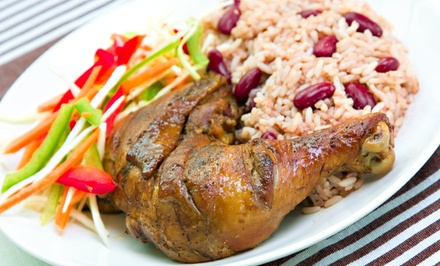 $17 for a Jamaican Jerk Pork Meal for Two at Hibiscus Caribbean Bar & Grill ($30 Value)