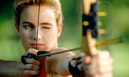 $49 for a One-Hour Archery Lesson and Shooting Session for Two at Pacifica Archery ($88 Value)
