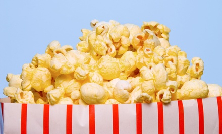 Popcorn Snack at Popcorn Fharmacy (Up to 50% Off). Two Options Available.