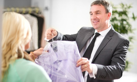 Servicio de lavandería de 2 o 4 prendas o de hasta 3 edredones, mantas o colchas desde 9,95 € en Tintorería Press a Sec