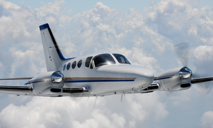 ALG Aviation - ALG Aviation - Private Charters & Air Tours: Aerial Trip Above Catalina Island plus Lunch for Two or Three from ALG Aviation (Up to 56% Off)