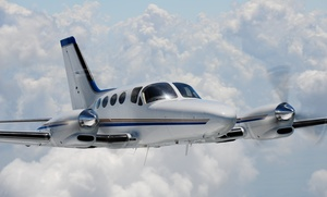 ALG Aviation: Aerial Trip Above Catalina Island plus Lunch for Two or Three from ALG Aviation (Up to 56% Off)