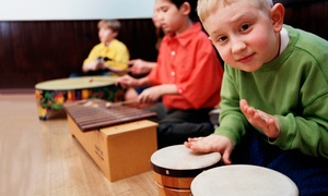 DrumConnection: Five-Week Rhythm Music Class for Kids or Eight-Week Class for Adults at DrumConnection (Up to 58% Off)