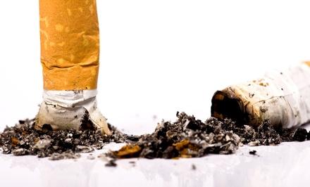 Sesión de terapia láser con hipnosis para dejar de fumar para una o dos personas desde 39,95 €