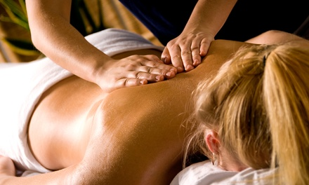 $70 for 90-Minute Custom Therapeutic Massage or Raindrop Technique at Hands for Health ($120 Value)