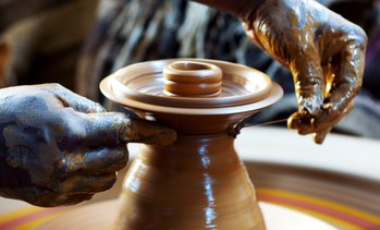 Up to 43% Off Pottery-Wheel Class at VisArts