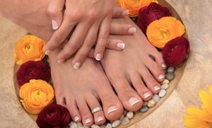 Gel Manicure and Basic Pedicure