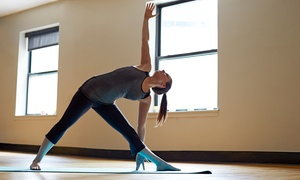 Monster Yoga: 5 or 10 Classes, or One Month of Unlimited Classes at Monster Yoga (Up to 59% Off)