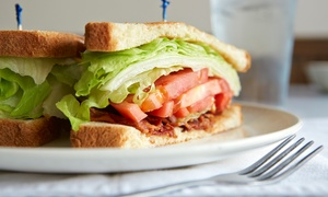 D&K Cafe: Sandwiches, Pizza, and Salad at D&K Cafe (40% Off). Two Options Available.
