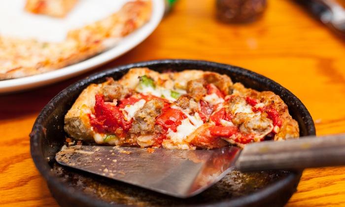 Papa Saverio's Pizzeria - Aurora-Eola: $12 for $20 Worth of Pizza and Family-Style Italian Food at Papa Saverio's Pizzeria. Order Online.
