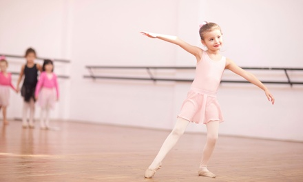 One Month of Ballet Classes for One or Two Children Ages 2-13 at South Fulton Studios (Up to 44% Off)