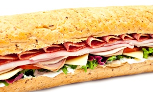 Subway: Footlong and 6-Inch Sub Packages at Subway (Up to 41% Off). Three Options Available.