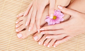 Polish nails care and more: Mani-Pedi and Foot Massage with Optional Foot Treatments at Polish Nails Care and More (Up to 56% Off)