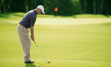 18-Hole Round of Golf for Two or Four Including Cart Rental at Green Oaks Golf Course (Up to 45% Off)