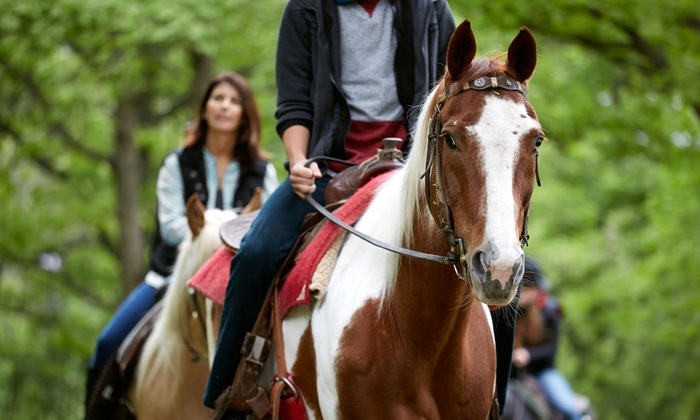 This Is The Place Heritage Park - This Is The Place Heritage Park: $79 for a Horseback Ride for Two with Park Admission at This Is The Place Heritage Park ($174Value)