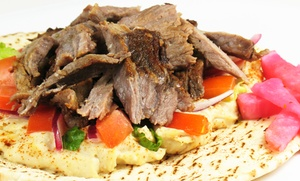 Shawarma Planet: Up to AED 150 Toward the Menu at Shawarma Planet (Up to 43% Off)