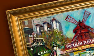 Art & Framing Gallery: $17 for $75 Worth of Paintings, Frames, Custom Framing at Art & Framing Gallery