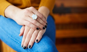 Perry George Salon & Spa: $31 for a No-Chip Manicure and Regular Pedicure at Perry George Salon & Spa ($75 Value)