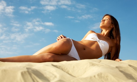 One or Three Sunless Airbrush-Spray Tans at South Beach Hair & Tanning (Up to 84% Off)