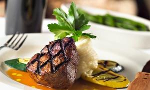 El Encinar: Tabla de carne o marisco y pescado para dos o cuatro personas con entrantes, postre y botella de vino desde 19,90 €
