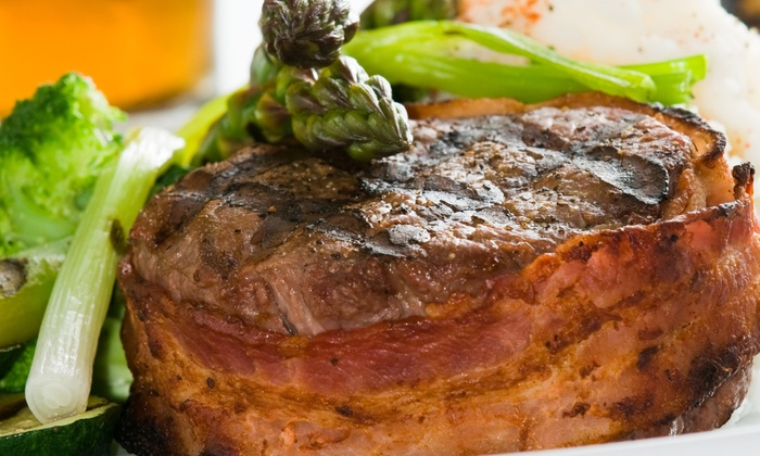 Purple Pear - Purple Pear: C$45 for C$75 Worth of Steak, Seafood, and Pasta for Two at Purple Pear
