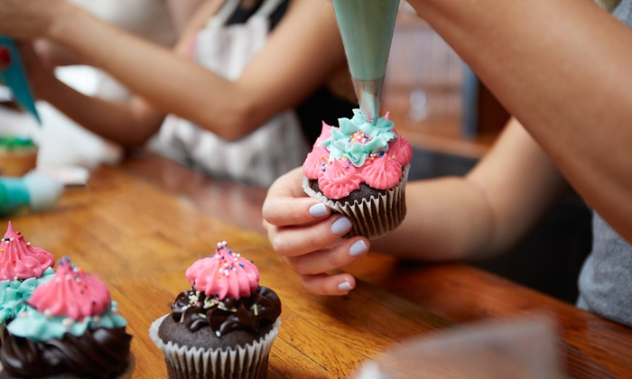 Arizona Birthday Cakes - Chesapeake: Basic, Silver, or Gold Cupcake Tower from Arizona Birthday Cakes (Up to 61% Off)