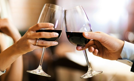 Wine Tasting for Two or Four with Starters at LeftBank Wine Bar (Up to 40% Off)