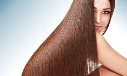 Haircut, Brazilian Blowout, or Waxing and Nail Services at Jeniette New York Day Spa (Up to 42% Off)