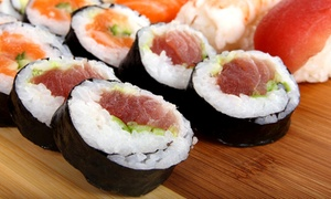 Miyabi Sushi - Elizabeth: One ($23) or Two ($45) 60-Piece Sushi Platters from Miyabi Sushi - Elizabeth (Up to $90 Value)