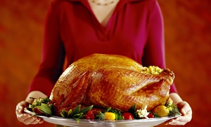 Sheba Foods Catering: Pre-Made Holiday Turkey Feast That Feeds 8–10, 10–14, or 12–16 from Sheba Foods Catering (Up to 60% Off)